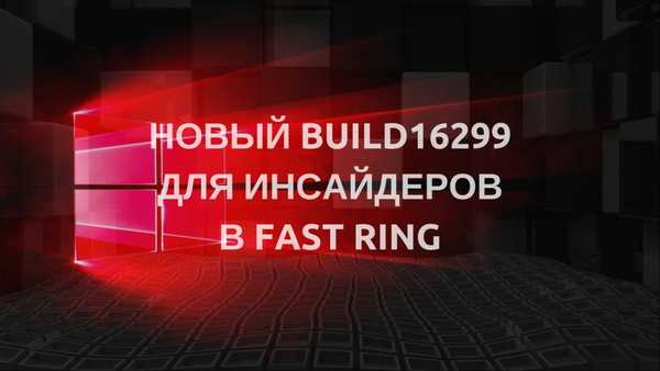 Windows 10 Build 16299 za PC u Fast Ringu