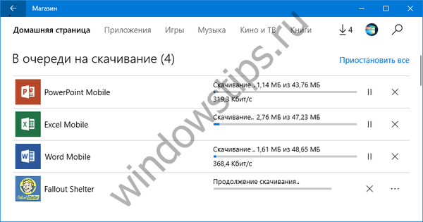 Windows Store dobija novu traku napretka