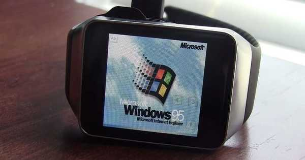 Windows 95 na zapestju z Gear Live in Android Wear (Video)