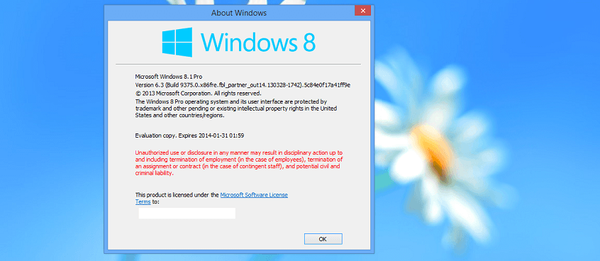 Windows Blue se bo imenoval Windows 8.1 in ne Windows 9