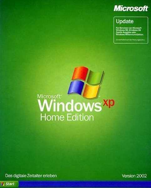 Windows XP Home a Professional